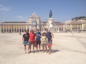 Lissabon-Porto-Santiago de Compostela